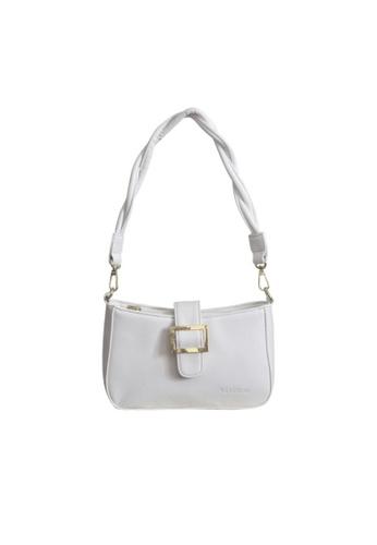 Verchini white Verchini Twist Top Handle Bag 4813FAC430A611GS_1