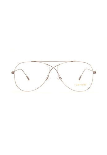 b4d5318d00 Tom Ford silver TOM FORD FT5531 014 Eyeglasses 78E38GL8701A47GS 1