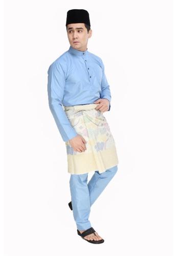 Amar Amran blue Baju Melayu Moden 1E1DFAA82CC566GS_1