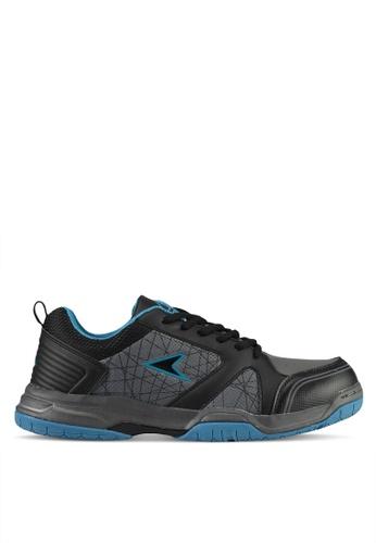 Power black and grey Power Men Athletic Badminton Shoes 859DESHE48FC88GS_1
