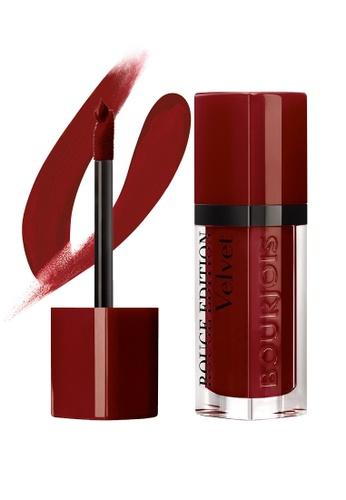 BOURJOIS red Bourjois Rouge Edition Velvet Liquid Lipstick #19 Jolie-De-Vin BO885BE66LBLSG_1