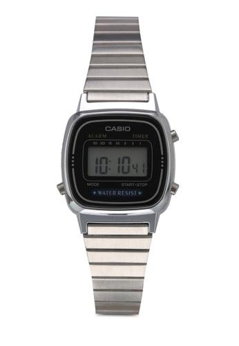 Casio 銀色 Casio Watch LA670WD-1DF 0DDB8ACB61D5E7GS_1