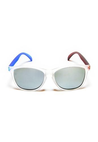 2i's to eyes white and silver 2i's Sunglasses - Nylon 2I983AC84OZJHK_1