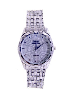 Japan Design Silver Plating Chain Watch