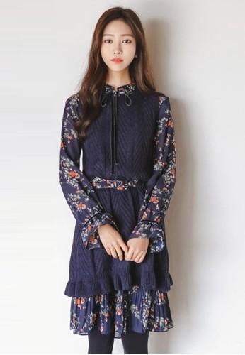 針織馬甲連衣裙兩件套,zalora 衣服評價 服飾, 及膝洋裝
