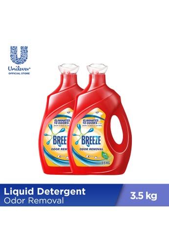 Breeze Breeze Odor Removal Liquid Detergent 3.5KG x2 4C469ES35307D2GS_1