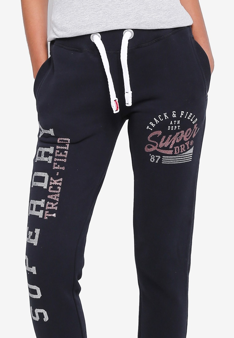 Track Superdry Field Navy amp; Joggers Eclipse Fq7Px