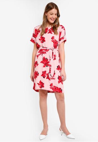 Modstrom multi Jacques Print Dress 5396DAA8999505GS_1