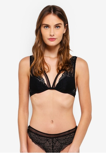 Undiz black Steeviz Lace Bra FE4A4US3EBA400GS_1