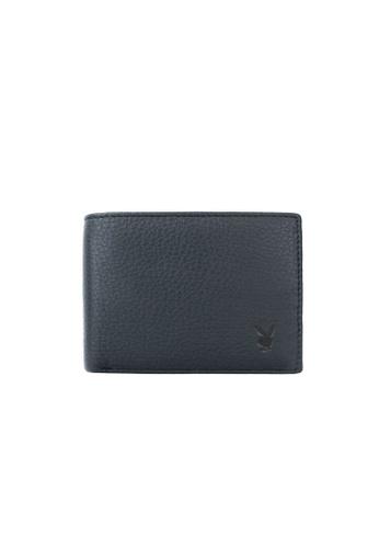Playboy blue Faux Leather Rfid Blocking Wallet 75286AC5B5D592GS_1