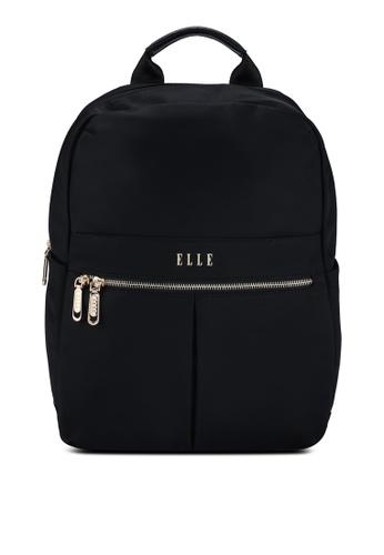 ELLE black Agnes Backpack CAC08AC3BA4147GS_1