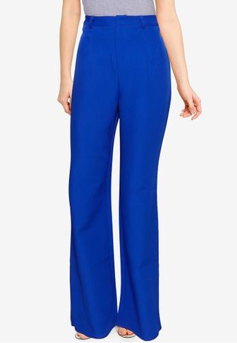 Public Desire blue Oversized Wide Leg Trousers A4DB4AA19B1524GS_1