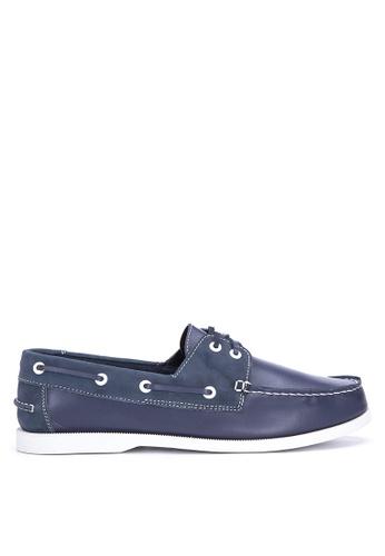 Brogue & Derby blue Deon Boat Shoes BR611SH0IWEVPH_1