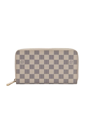 Louis Vuitton white Louis Vuitton Damier Azur Long zippy wallet A5DE3AC5C0208BGS_1