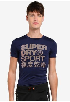 Superdry-運動 Athletic 圖像 T卹
