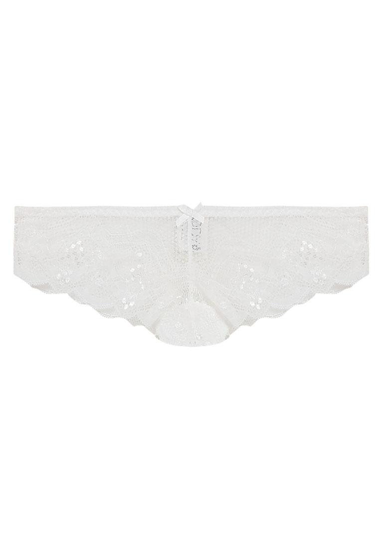 Brasiliano Cindy BB Briefs On Cream Cotton Body Bq8wvB1