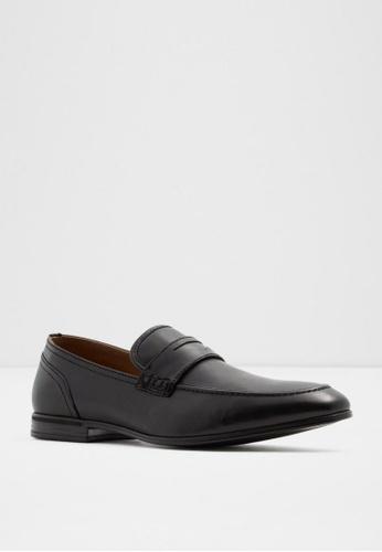 ALDO black Wigomwen Loafers FEDF7SH347D7C1GS_1