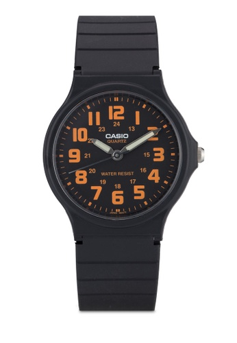 Casio black Casio Men's Black Resin Watch CA843AC33XXYMY_1
