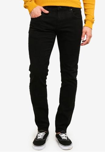 OVS 黑色 緊身Fit Rinse Wash 牛仔褲 2CFA0AA07B9ABCGS_1