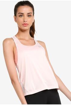 b60b03e04c8e Nike pink Nike Miler Women's Running Tank Top 59DD0AA65B53C5GS_1