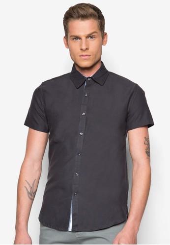經典棉質短袖襯衫, 服飾, esprit taiwan襯衫