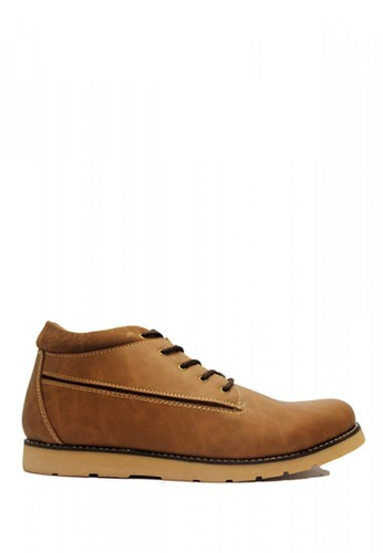 D-Island brown D-Island Shoes Boots Sole Rubber Comfort Leather Soft Brown 7A5ACSHB5D459CGS_1