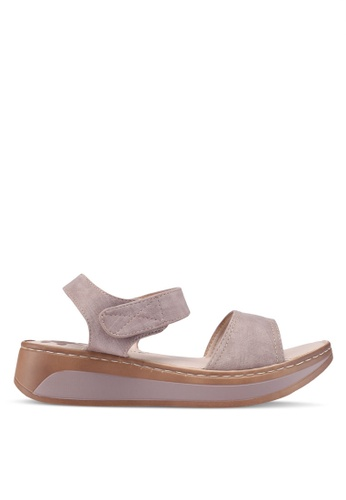 Louis Cuppers brown Casual Sandals 3DB2CSHD592065GS_1