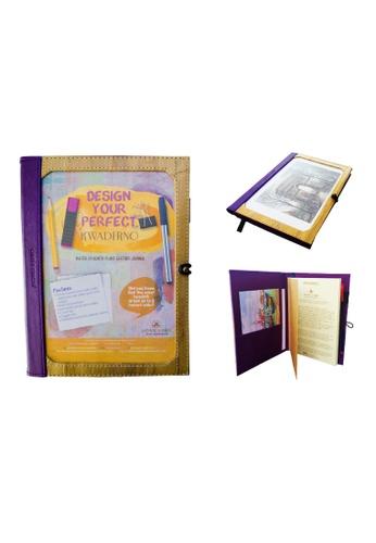Jacinto and Lirio purple Pinto Medium Personalizable Refillable Vegan Leather Journal 68C6AHLA511700GS_1
