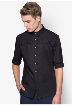 Formal Shirt With Pleat Details