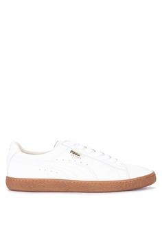 0c4e163c6c10c6 Puma white Basket Classic Gum Deluxe Sneakers 37543SHCE17C5BGS 1