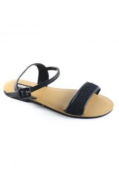 Habi Footwear Luxe Women's Kiss '15 Sandals - Black