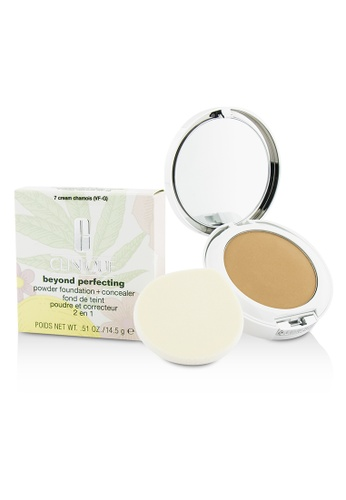 Clinique CLINIQUE - Beyond Perfecting Powder Foundation + Corrector - # 07 Cream Chamois (VF-G) 14.5g/0.51oz 12B43BE9BD865CGS_1