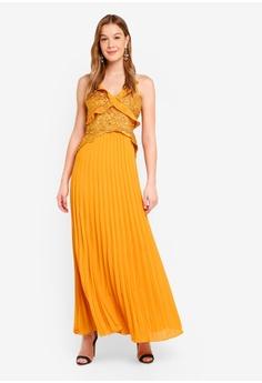 c4ef5579f367 True Decadence yellow Embroided Maxi Dress 122B1AA0EAE57EGS 1