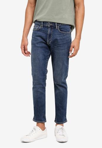 GAP blue Skinny Dusted Jeans EEBE0AAB8AEB78GS_1