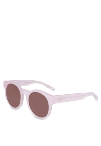 BLANC & ECLARE pink Shanghai Sunglasses 32B43GL81FE03AGS_1