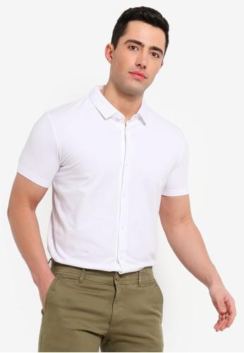 ESPRIT white Short Sleeve Polo Shirt 583A8AAB184CECGS_1