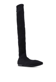 0c0b96e4cb38 Twenty Eight Shoes Socking Skinny Over Knee Boots Php 3
