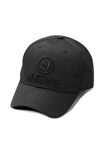 NOVE black NOVE Unisex Adjustable Sportswear Cap 4A55BAC73DA31CGS_1