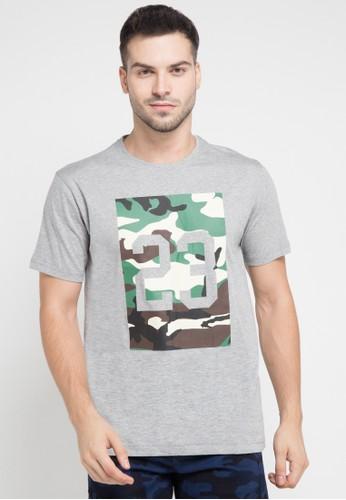 Asylum grey Mens T-Shirt AS339AA0VO34ID_1