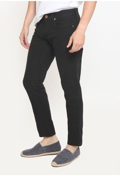 2nd Red black 2Nd RED Long Pants Twill - Black 115515 2N287AA0VCPTID_1