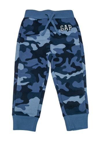GAP blue Logo Jogger Pants 0D72BKAB2312DAGS_1