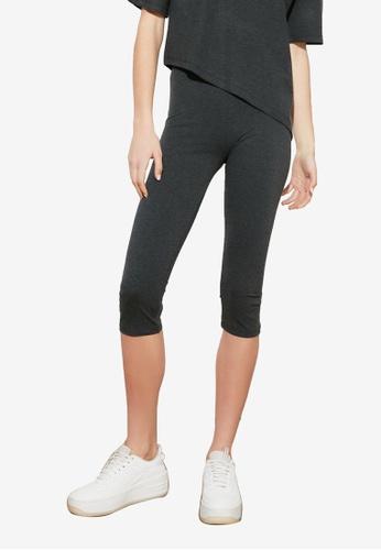 Trendyol black 3/4 Sports Leggings CE206AA17DAC2BGS_1