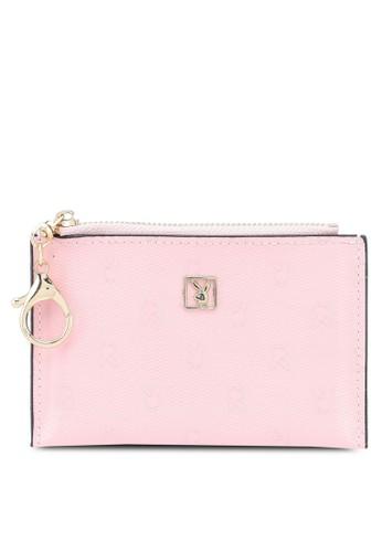 PLAYBOY BUNNY pink Playboy Bunny Card Holder/Coin Purse 6E76CAC3827B40GS_1