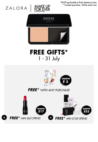 MAKE UP FOR EVER beige MATTE VELVET SKIN COMPACT - Full Coverage Foundation  10G Y345 5AD93BE76016F0GS_1