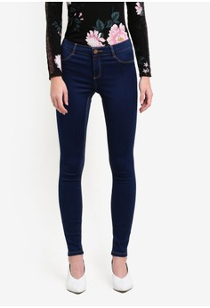 Regular Length Indigo Frankie Jeans