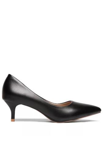 Twenty Eight Shoes 黑色 5CM尖頭高踭鞋 292-18 C92CCSH0980DA9GS_1