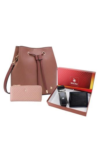 Swiss Polo pink Unisex Gift Set F049BAC005946FGS_1