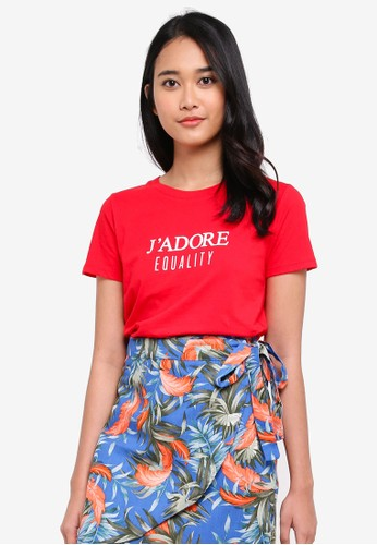 Factorie red Riley Ringer Tee AC45CAAA9E06A8GS_1