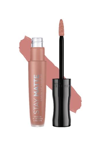 super promotions magasiner pour véritable vente chaude en ligne Rimmel Stay Matte Liquid Lip Colour (Nudes) 708 Mwah