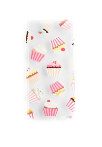 Fancy Cellphone Cases multi Cupcakes Soft Transparent Case for iPhone 5/5s/SE                    FA644AC25VLAPH_1